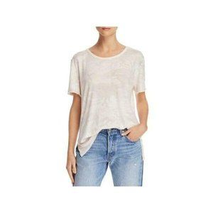 We The Free People Camo Print Relaxed Fit Top Tee